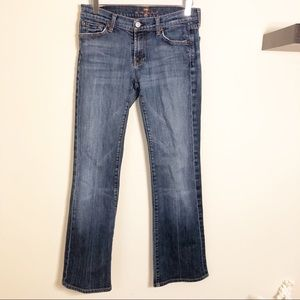 7 for all Mankind Bootcut Jeans! Size 28!